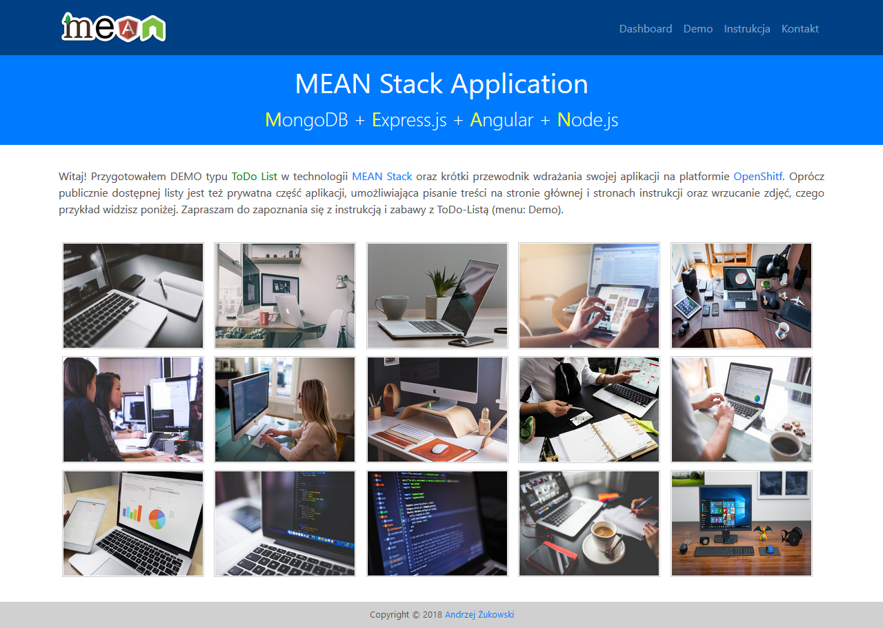 Projekt MEAN Stack Auth Application